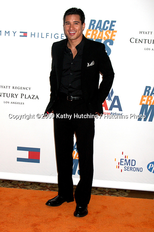 Mario Lopez  arriving at the Rock to Erase MS Gala at the Century Plaza Hotel in Century Ciy , CA  on May 8, 2009.©2009 Kathy Hutchins / Hutchins Photo....                .