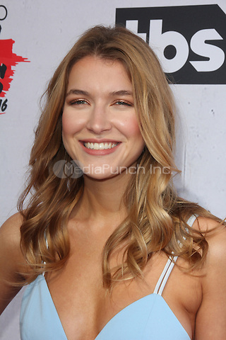 INGLEWOOD, CA - APRIL 3: Nathalia Ramos at the iHeartRadio Music Awards at The Forum on April 3, 2016 in Inglewood, California. Credit: David Edwards/MediaPunch