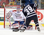 Doug Carr (Lowell - 31), Phil DeSimone (UNH - 39) - The visiting University of New Hampshire Wildcats defeated the University of Massachusetts-Lowell River Hawks 3-0 on Thursday, December 2, 2010, at Tsongas Arena in Lowell, Massachusetts.