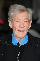 Sir Ian McKellen  arriving the UK Premiere of 'X-Men: Days of Future Past' at Odeon Leicester Square, London. 12/05/2014 Picture by: Alexandra Glen / Featureflash