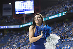 UK dancer warming up the fans at Rupp Arena in Lexington, Ky. on Tuesday, January 12, 2016. Photo by Josh Mott | Staff.