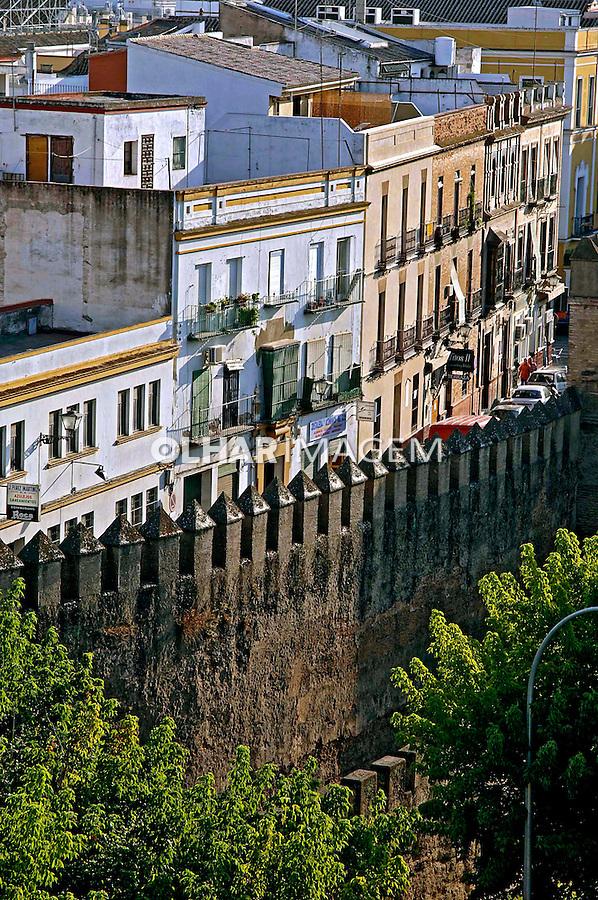 Muralhas de Sevilha. Espanha. 2005. Foto de Rogério Reis.