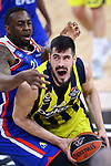 Turkish Airlines Euroleague.<br /> Final Four - Vitoria-Gasteiz 2019.<br /> Semifinals.<br /> Fenerbahce Beko Istanbul vs Anadolu Efes Istanbul: 73-92.<br /> James Anderson vs Nikola Kalinic.