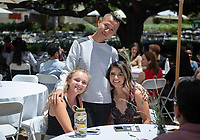 Graduating seniors, family, faculty, staff and alums gather for the Lavender Graduation Celebration, in the Academic Quad on Friday, May 17, 2019.<br /> (Photo by Marc Campos, Occidental College Photographer)