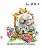 Interlitho, EASTER, OSTERN, PASCUA, paintings+++++,KL4445/1,#e# rabbits