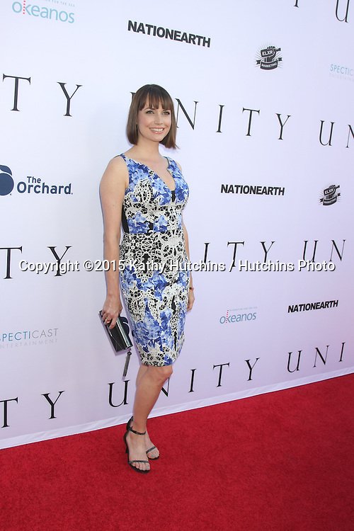 "LOS ANGELES - JUN 24:  Julie Ann Emery at the ""Unity"" Documentary World Premeire at the Director's Guild of America on June 24, 2015 in Los Angeles, CA"