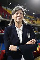 Milena Bartolini coach of Italy<br /> Benevento 08-11-2019 Stadio Ciro Vigorito <br /> Football UEFA Women's EURO 2021 <br /> Qualifying round - Group B <br /> Italy - Georgia<br /> Photo Cesare Purini / Insidefoto