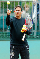 28-5-06,France, Paris, Tennis , Roland Garros, Technical Director of the KNLTB Hans Felius