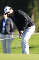Ray Romano putts onto the 1st green during Thursday's Round 1 of the 2018 AT&amp;T Pebble Beach Pro-Am, held over 3 courses Pebble Beach, Spyglass Hill and Monterey, California, USA. 8th February 2018.<br /> Picture: Eoin Clarke | Golffile<br /> <br /> <br /> All photos usage must carry mandatory copyright credit (&copy; Golffile | Eoin Clarke)
