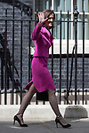 © Joel Goodman - 07973 332324 . 11/05/2015 . London , UK . THERESA VILLERS leaves 10 Downing Street this afternoon (11th May 2015) . Photo credit : Joel Goodman