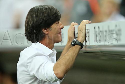 06.09.2013. Allianz Arena, Munich, Germany.  DFB German coach Joachim Jogi Loew. Germany versus Austria  World Cup Qualification Munich