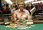 Mary Jones Meyer, champion of the 2006 WSOP Ladies Event.