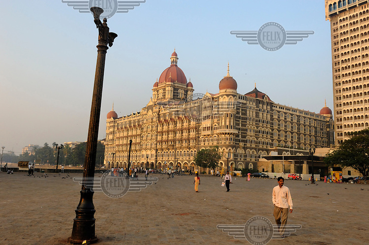 Taj Mahal Palace Hotel.