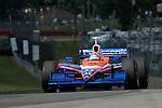 20 July 2007: Kosuke Matsuura (JPN) at the Honda 200 at Mid-Ohio, Lexington, Ohio.