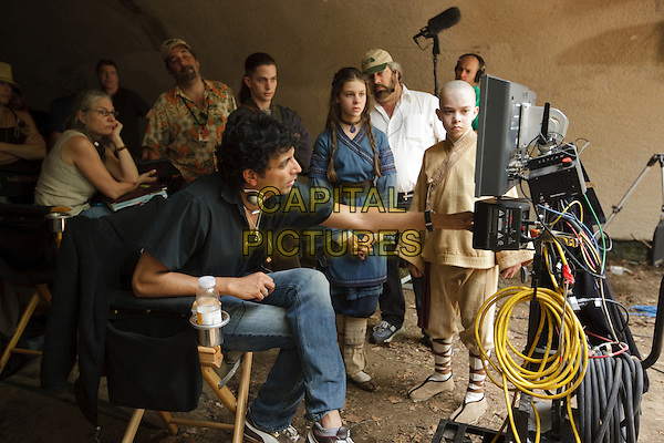 M. NIGHT SHYAMALAN (DIRECTOR), JACKSON RATHBONE, NICOLA PELTZ & NOAH RINGER.on the set of The Last Airbender .*Filmstill - Editorial Use Only*.CAP/FB.Supplied by Capital Pictures.