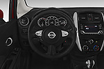 Car pictures of steering wheel view of a 2015 Nissan Versa Note 5 Door Hatchback