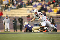 11 November 2006: Chris Horn during Stanford's 20-3 win over the Washington Huskies in Seattle, WA.