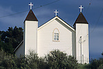 San Ramon Chapel (est. 1875) Santa Maria Valley, near Santa Maria, Santa Barbara County, California