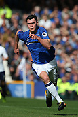 9th September 2017, Goodison Park, Liverpool, England; EPL Premier League Football, Everton versus Tottenham; Michael Keane of Everton races after the ball