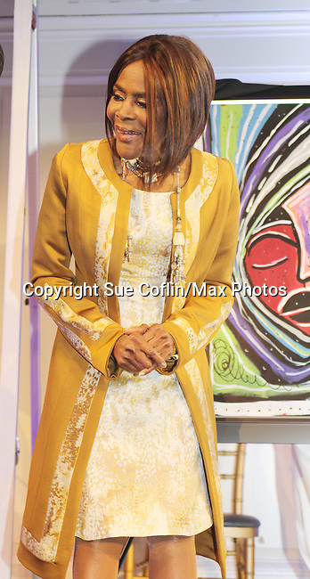 Cicely Tyson - The 11th Annual Skating with the Stars Gala - a benefit gala for Figure Skating in Harlem - honoring Cicely Tyson (film, tv and stage actress and was on The Guiding Lignt) on April 11, 2016 on Park Avenue in New York City, New York with many Olympic Skaters and Celebrities. (Photo by Sue Coflin/Max Photos)