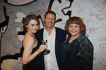 """Days of our Lives Jillian Clare """"Abigail Deveraux"""" wins the Indie Award for best use of music for Miss Behave. She placed almost all the music for the second season of Miss Behave and poses with Kevin Spirtas and Patrika Darbo. We Love Soaps presents The 3rd Annual Indie Soap Awards on February 21, 2012 at the New World Stages, New York City, New York.  (Photo by Sue Coflin/Max Photos)"""