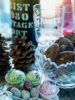 A fine port, sweets and Heegaard's homemade rustic gingerbread cookies are a tradition at Christmas