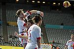 Kasper Sondergaard & Jesper Noddesbo. DENMARK vs HUNGARY: 28-26 - Quarterfinal.