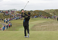 27 May 2015;  Stephen Watson played the 10th<br /> <br /> Dubai Duty Free Irish Open Golf Championship 2015, Pro-Am. Royal County Down Golf Club, Co. Down. Picture credit: John Dickson / DICKSONDIGITAL
