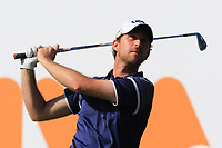 Robin Sciot-Siegrist (FRA) on the 6th tee during Round 3 of the Challenge Tour Grand Final 2019 at Club de Golf Alcanada, Port d'Alcúdia, Mallorca, Spain on Saturday 9th November 2019.<br /> Picture:  Thos Caffrey / Golffile<br /> <br /> All photo usage must carry mandatory copyright credit (© Golffile | Thos Caffrey)