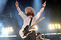07 June 2018 - Nashville, Tennessee - John Osborne, Brothers Osborne. 2018 CMA Music Festival Nightly Concert held at Nissan Stadium. <br /> CAP/ADM/DMF<br /> &copy;DMF/ADM/Capital Pictures
