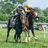 Tazmanian Charlie winning at Delaware Park on 8/11/16