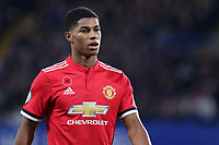 Marcus Rashford of Manchester United during Chelsea vs Manchester United, Premier League Football at Stamford Bridge on 5th November 2017