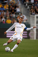 Los Angeles Galaxy midfielder (23) David Beckham during the first half against D.C. United at the Home Depot Center in Carson, CA on Wednesday, August 15, 2007. The Los Angeles Galaxy defeated D. C. United 2-0 in a SuperLiga semifinal match.