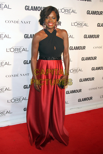 NEW YORK, NY - NOVEMBER 9: Viola Davis at the 2015 Glamour Women Of The Year Awards at Carnegie Hall on November 9, 2015 in New York City. <br /> CAP/MPI/RW<br /> &copy;RW/MPI/Capital Pictures