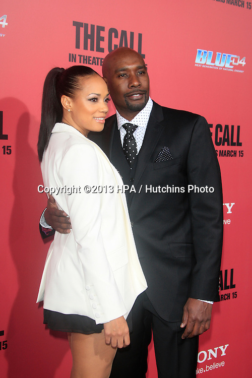 """LOS ANGELES - MAR 5:  Pam Chestnut, Morris Chestnut arrives at """"The Call"""" Premiere at the ArcLight Hollywood Theaters on March 5, 2013 in Los Angeles, CA"""