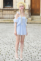 Petite Meller arrives for the VIP preview of the Royal Academy of Arts Summer Exhibition 2016