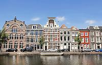 Nederland Leiden  2016  06 24 .  De Oude Singel in Leiden.  Foto Berlinda van Dam / Hollandse  Hoogte