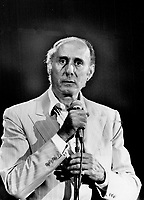 Henry Mancini: The composer of the Pink Panther theme conducted the Toronto Symphony, 1981<br /> <br /> PHOTO : Griffin, Doug
