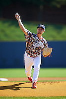 Reading Fightin Phils starting pitcher Mark Leiter (28) during a game against the New Hampshire Fisher Cats on June 6, 2016 at FirstEnergy Stadium in Reading, Pennsylvania.  Reading defeated New Hampshire 2-1.  (Mike Janes/Four Seam Images)