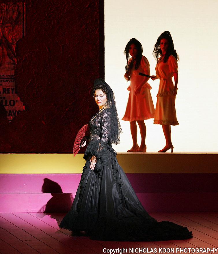 2007 - CARMEN - Milena Kitic as Carmen in Opera Pacific's production of Carmen.