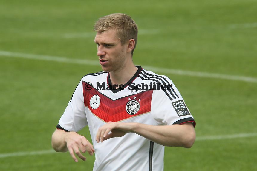 Per Mertesacker - Training der Deutschen Nationalmannschaft im Rahmen der WM-Vorbereitung in St. Martin