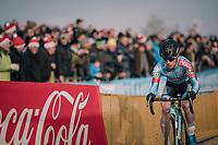 Eli Iserbyt (BEL/Marlux-Bingoal)<br /> <br /> Elite Men's Race<br /> Belgian National CX Championships / Koksijde 2018