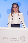 Queen Letizia of Spain attends 2015 Telefonica ability Awards ceremony in Madrid, Spain. January 12, 2015. (ALTERPHOTOS/Victor Blanco)