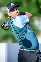 Sergio Garcia (ESP) watches his tee shot on 10 during the round 1 of the Dean &amp; Deluca Invitational, at The Colonial, Ft. Worth, Texas, USA. 5/25/2017.<br /> Picture: Golffile | Ken Murray<br /> <br /> <br /> All photo usage must carry mandatory copyright credit (&copy; Golffile | Ken Murray)