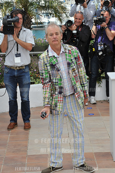 "Bill Murray at the photocall for his new movie ""Moonrise Kingdom"" at the 65th Festival de Cannes..May 16, 2012  Cannes, France.Picture: Paul Smith / Featureflash"