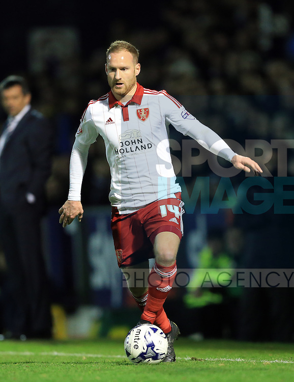 Sheffield United's Matt Done in action during the League One match at Roots Hall Stadium.  Photo credit should read: David Klein/Sportimage