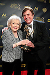 BURBANK - APR 26: Betty White, David Michaels at the 42nd Daytime Emmy Awards Gala at Warner Bros. Studio on April 26, 2015 in Burbank, California