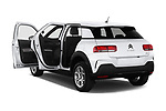 Car images close up view of a 2018 Citroen C4 Cactus Shine 5 Door SUV doors