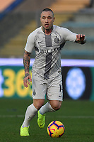 Radja Nainggolan of Internazionale in action during the Serie A 2018/2019 football match between Empoli and Internazionale at stadio Castellani, Empoli, December, 29, 2018 <br /> Foto Andrea Staccioli / Insidefoto