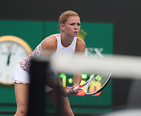 17th January 2019, Melbourne Park, Melbourne, Australia; Australian Open Tennis, day 4; Camilla Giorgi of Italy returns the ball during the match agains ILA Swiatek of Poland